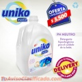 Detergente Uniko matic (presentacion 5 litros)