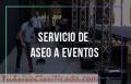 SERVICIO DE ASEO PARA EVENTOS