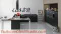Diseño y Fabricación de Muebles, Carpintería en Aluminio y Cristales