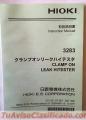 AMPERIMETRO DE TENAZA MARCA HIOKI 3283 JAPONES NUEVO